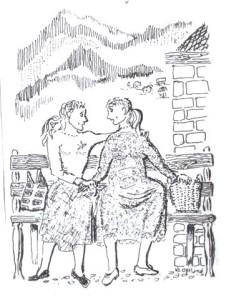 Ontmoeting Maria en Elisabeth 2