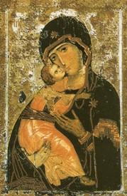 afbeelding bij Madonna di Vladimir